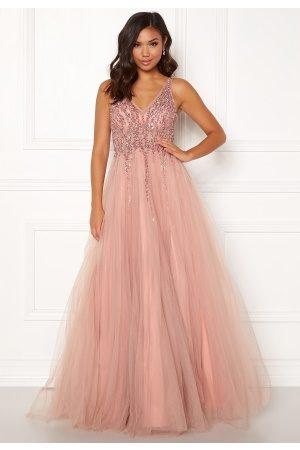 Christian Koehlert Paris Sparkling Tulle Dream Dress Dawn Pink 34