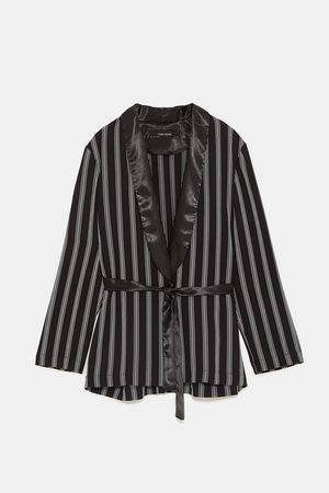 Zara Dame Kimonoer - Stripet kimono