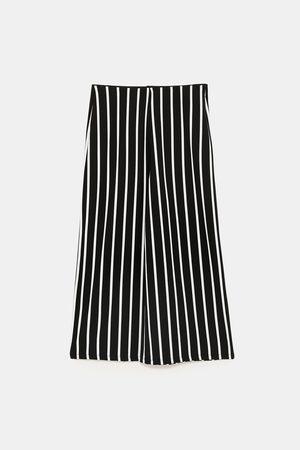Zara Dame Culotte bukser - Basic culottebukse