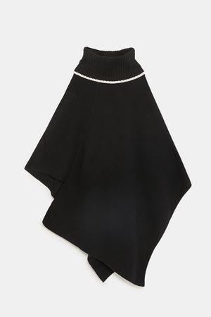 Zara Dame Pologensere - Kappe med rullekrage