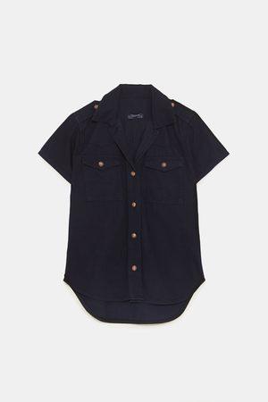 Zara Dame Denim - Denimskjorte zw premium