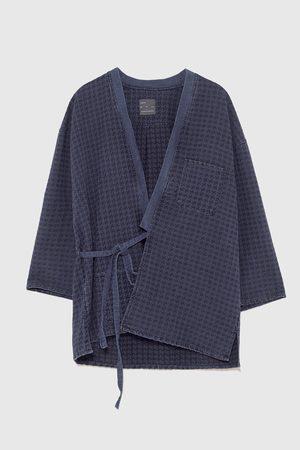 Zara Dame Kimonoer - Kimono i denim