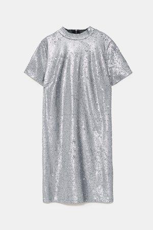 Zara Dame Festkjoler - Kjole med paljetter