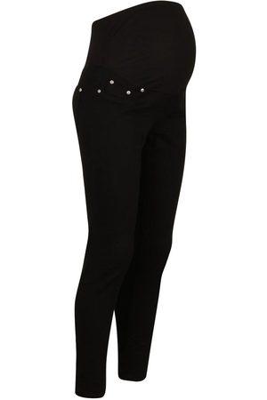 Boohoo Maternity Over The Bump Skinny Super Stretch Jean