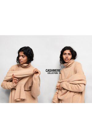 Zara Dame Pologensere - Kashmirgenser med høy hals