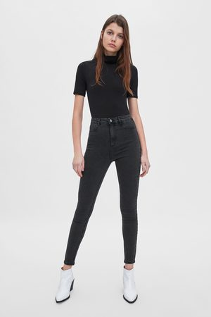 Zara Super stretch jeggings med høyt liv
