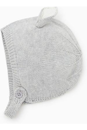 Zara Knit hat with ears