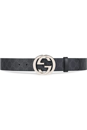 Gucci Herre Belter - GG Supreme belt with G buckle