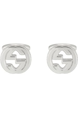 Gucci Interlocking G cufflinks in silver