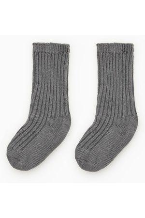 Zara Ribbestrikkede sokker