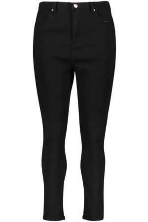 Boohoo Plus High Waist Skinny Jeans