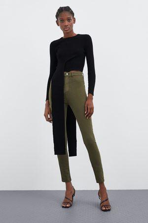 Zara Super-stretch jegging med høyt liv