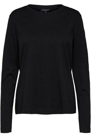 Selected Long-Sleeved T-shirt Organic cotton