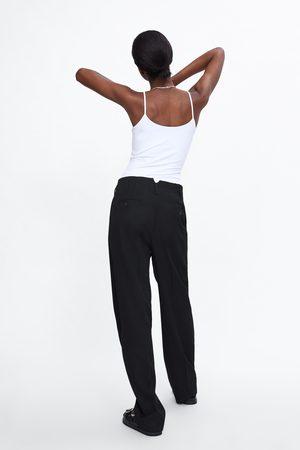 Zara Elastisk singlet med stropper