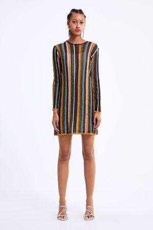 Zara Stripet strikket kjole