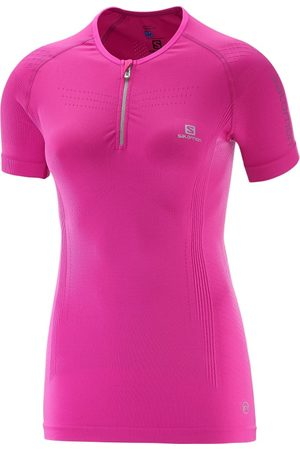 Salomon Lightning Pro Shortsleeve Zip Tee Women's