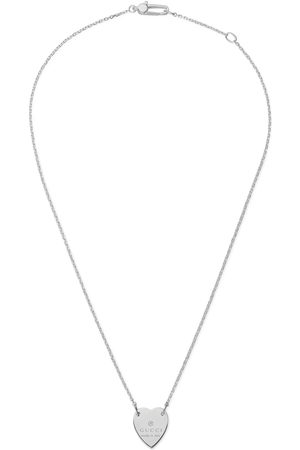 Gucci Dame Klokker - Heart necklace with trademark