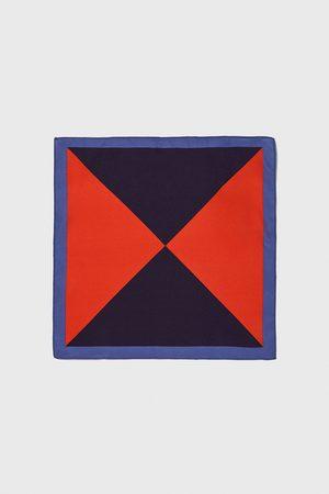 Zara Herre Lommetørkler - Lommetørkle med trekanter