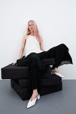 Zara Dame Halterneck - Topp med halterneck
