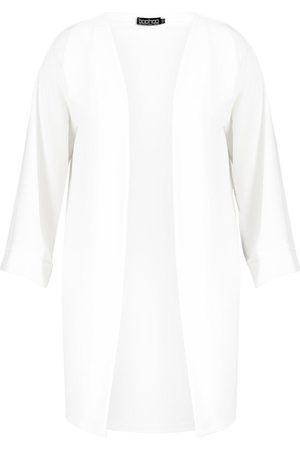 Boohoo Dame Kimonoer - Plus Kimono Sleeve Duster