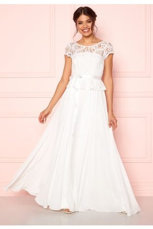 Ida Sjöstedt Dame Maxikjoler - Belinda Wedding Dress Ivory 40