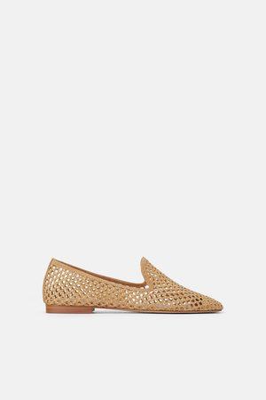 Zara Flat sko med hullmønster