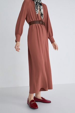 Zara Dame Loafers - Mokasin i skinn