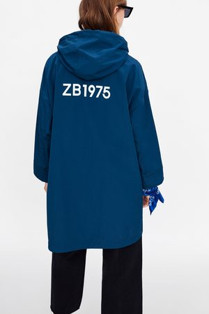 Zara Dame Regnjakker - Regnfrakk med hette