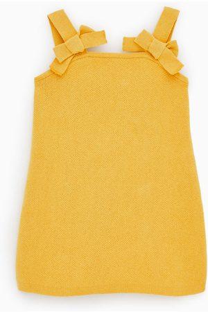 Zara Dame Strikkede kjoler - Strikket forklekjole i