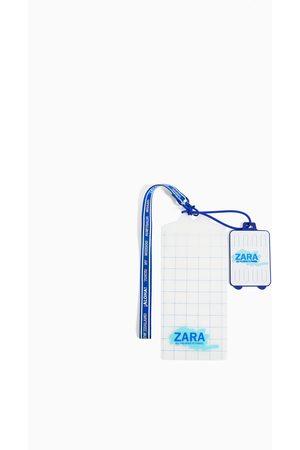 Zara Pakning med dokumentmappe + adresselapp til kofferter reise