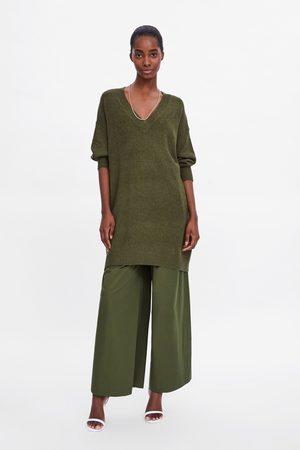 Zara Lang strikkegenser