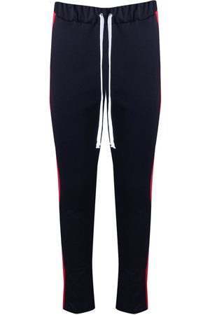 Boohoo Skinny Fit Panel Joggers With Elongated Drawcord