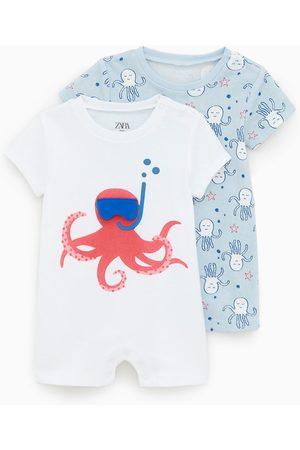 Zara Baby Pyjamaser - 2-pakning pyjamaser med blekkspruter