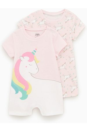 Zara Baby Pyjamaser - 2-pakning pyjamaser med enhjørninger