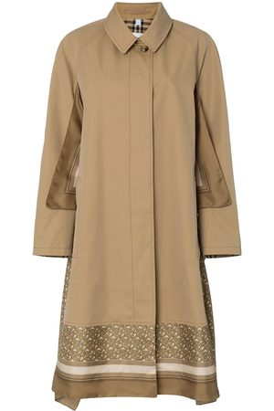 Burberry Scarf detail cotton trench coat