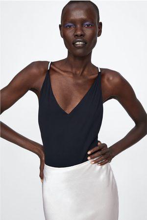 Zara Badedrakt med stropper og smykke