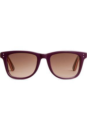 ARKET Wellington Acetate Sunglasses - Red