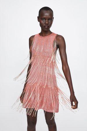 Zara Dame Kjoler - Kjole med frynser limited edition