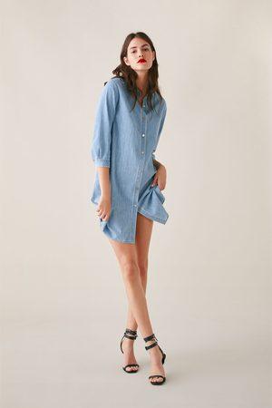 Zara Lang denimskjorte