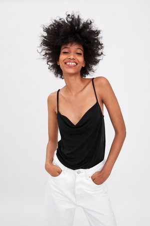 Zara Dame Body - Body med løs utringning