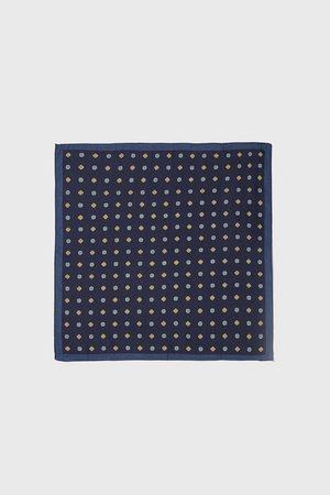 Zara Lommetørkle med geometrisk mønster
