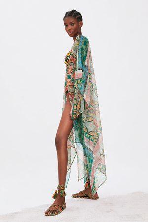 Zara Mønstret kimono