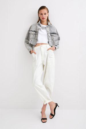 Zara Dame Cargobukser - Cargobukse med lommer