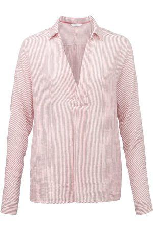 YAYA Raw edges neck blouse