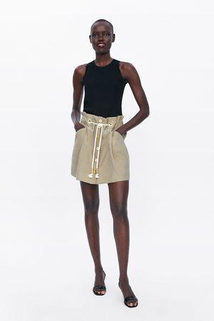 Zara Miniskjørt med knapper
