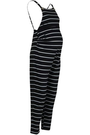 Boohoo Maternity Stripe Dungaree