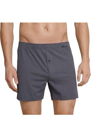 Schiesser Day and Night Pattern Boxershorts * Fri Frakt