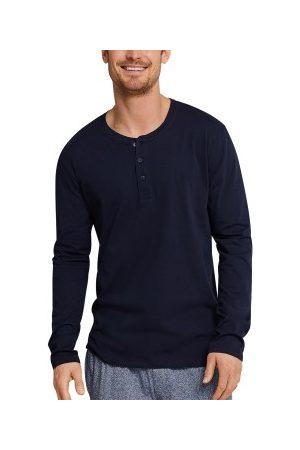 Schiesser Mix and Relax Long Sleeve Shirt Button * Fri Frakt