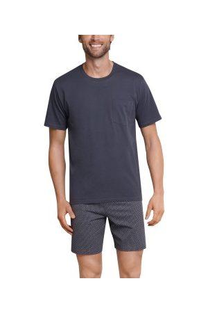 Schiesser Herre Pyjamaser - Day and Night Short Pyjama * Fri Frakt