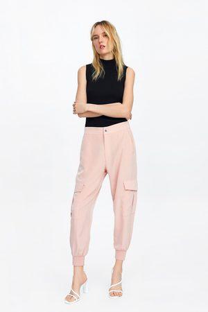 Zara Cargobukse med lommer